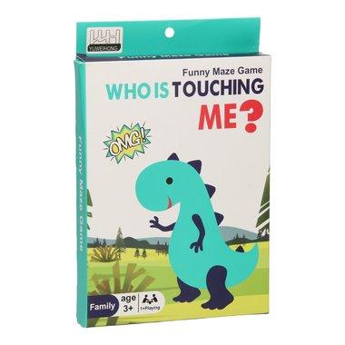 Dinosaurus - Zenuwspel: Wie raakt mij aan?