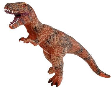 Speeldino T-rex (met geluid) - bruin - 41 cm