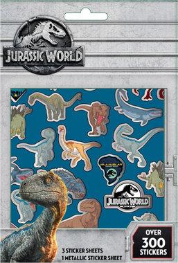Jurassic World stickervellen (4x) (300 stickers)
