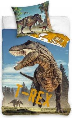 Dekbedovertrek T-rex (140x200cm)