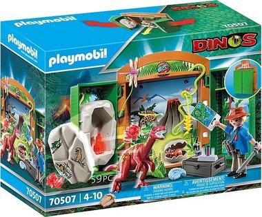 Dinosaurus Speelbox Dino-onderzoeker - Playmobil (70507)