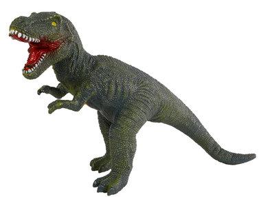 Grote speeldino T-rex (met geluid) - groen - Dinoworld