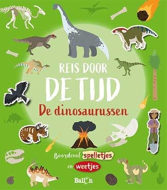 Sticker & activiteitboek : Reis door de tijd Dinosaurussen