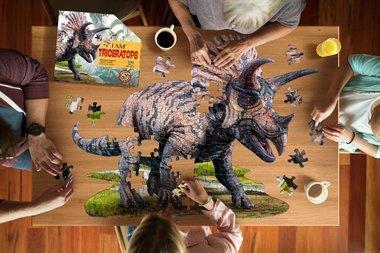100 stukjes Triceratops puzzel
