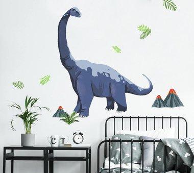 Brachiosaurus Muursticker (Roommates) (87,8 x 70,4 cm)