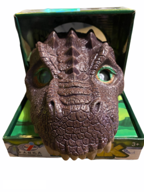 Dinosaurus masker Raptor 3D
