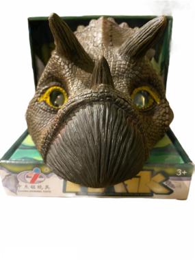 Dinosaurus masker Triceratops 3D