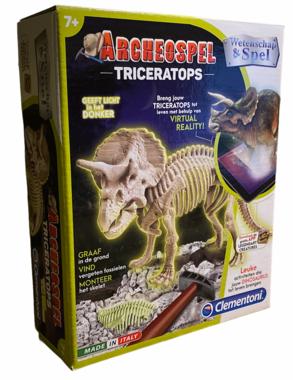 Archeospel Triceratops (glow in the dark)