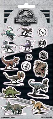 Jurassic World Puffy stickers (16)