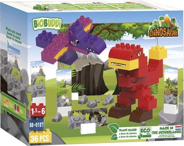 BiOBUDDi: T-rex bouwset (36dlg)