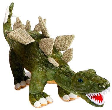 Dinoworld - Stegosaurus knuffel - (Lengte 46 cm)