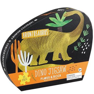 20 stukjes Brontosaurus puzzel