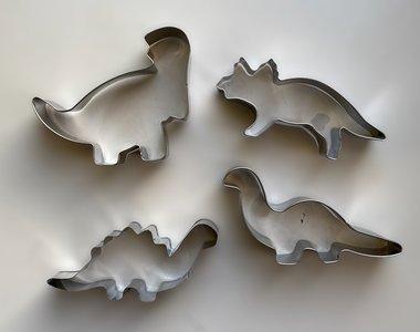 koekjes uitsteekvormen dinosaurussen (4x)