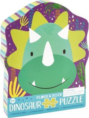 12 stukjes Triceratops puzzel