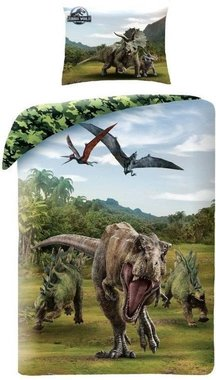 Jurassic World - Camouflage - Dekbedovertrek (140x200cm)