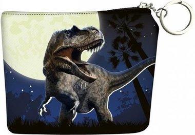 Dinosaurus portemonnee - blauw