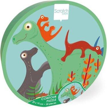 30 stukjes Brontosaurus puzzel + kids