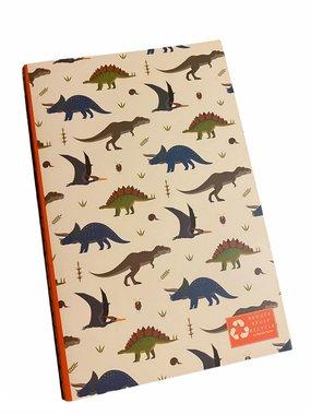 Notitieboekje/schriftje Dinosaurussen
