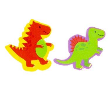 Dinosaurus gummetjes (2x) in zakje - Uitdeel tip