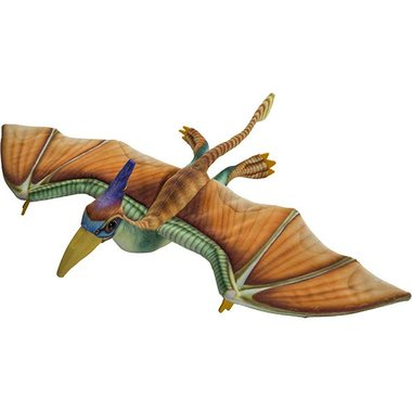 Pterosaur knuffel - Printed - (spanwijdte 54,5 cm)