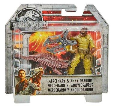 Jurassic World - Mercenary & Ankylosaurus