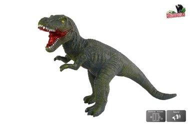 Grote speeldino T-rex (met geluid) - groen - 57 cm (Bestseller)