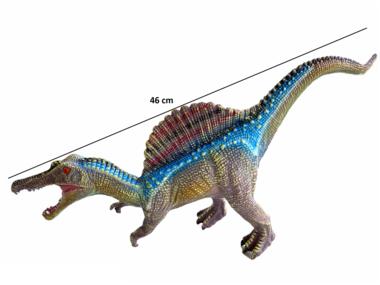 Speeldino Spinosaurus (met geluid) - blauw - 46 cm