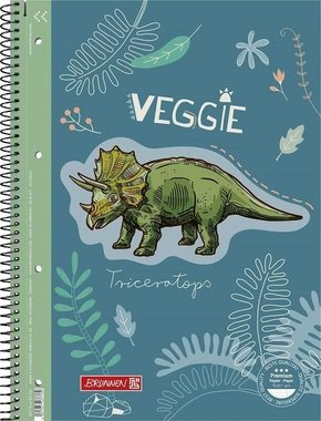 Dinosaurus Schrijfblok gelinieerd - A4
