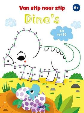 Dinosaurus van stip naar stip