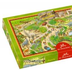 Dinopark puzzel - 72 stukjes