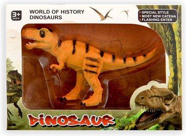 Speeldino T-rex in verpakking