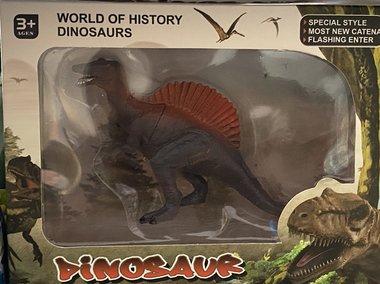 Speeldino Spinosaurus in verpakking