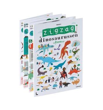 Ontdekken & Voorlezen : Zigzag dinosaurussen