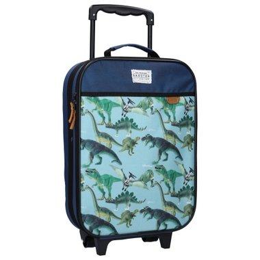 Trolley Koffer Skooter Dino - licht blauw