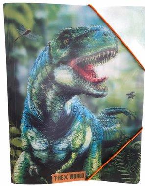 Dinosaurus T-rex world - opbergmap