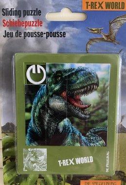 T-rex schuifpuzzel