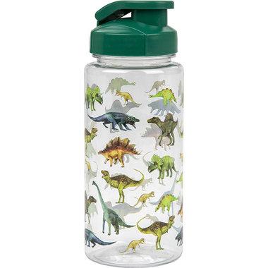 Dinosaurus drinkfles 500 ml - donker groen