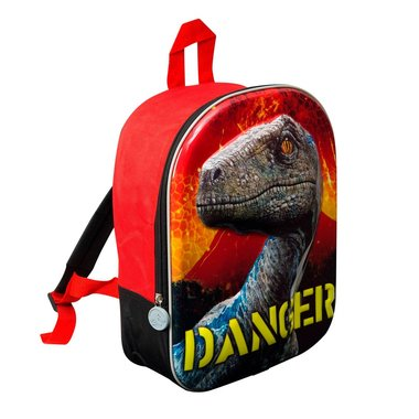 Jurassic World rugtas Velociraptor Blue - (Medium) Danger