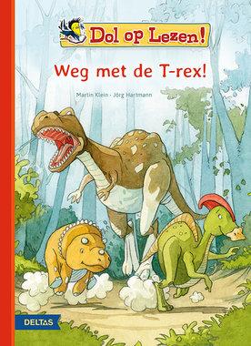 Leesboek: Dol op lezen! Weg met de T-rex!
