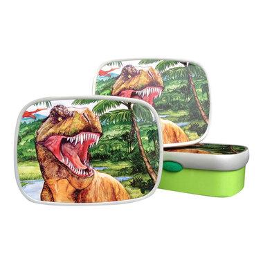 (laatste) Dinosaurus lunchbox/broodtrommel (Mepal)