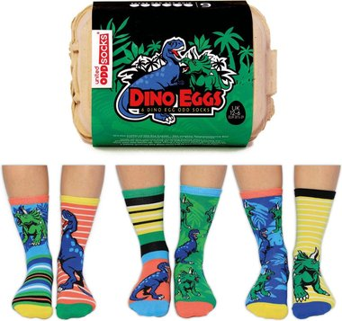 Dinosaurus sokken - Odd Socks - maat 30,5/39