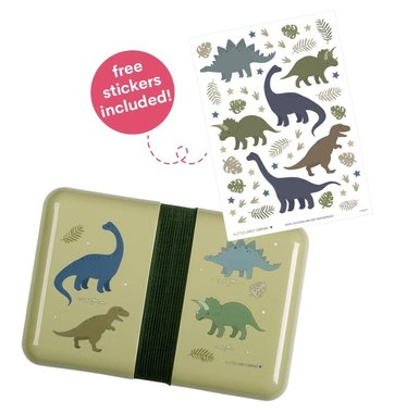 Lunchbox/broodtrommel Dinosaurus - Little Love