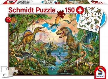 150 stukjes - Dinosaurus - Schmidt Puzzel