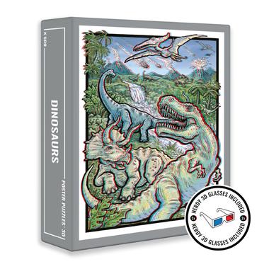 500 stukjes - Prehistorische 3D Legpuzzel