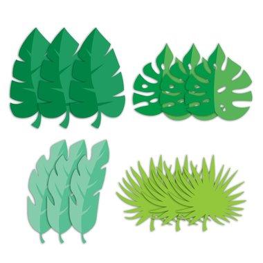 Tafelversiering - palm - bladeren - Partydeco