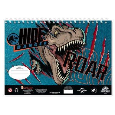 Jurassic World Schetsboek - Hide Roar