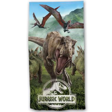 Handdoek - Badlaken Jurassic World - Forest -  (70 x 140 cm)