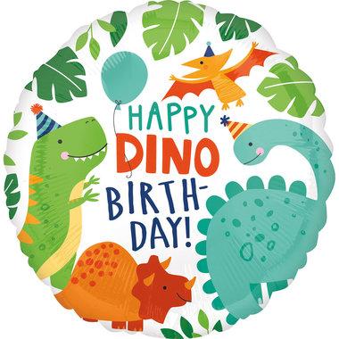 Ballon Dinosaurus Folie (Vrolijke dino's)