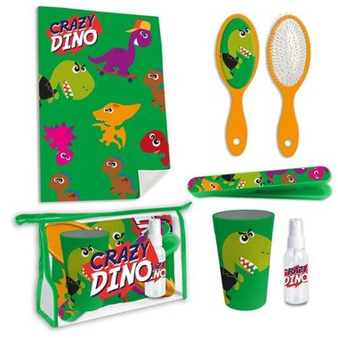 Toilettas Crazy dino's - 6 delig