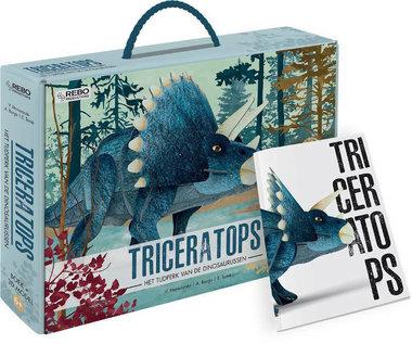 Triceratops - 3D model met informatieboekje